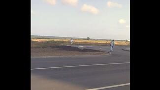 «Дети в панике». Воронежцы пожаловались на опасную дорогу к новой школе в Шилово