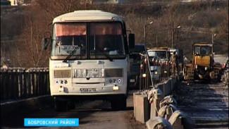 В Воронежской области началась реконструкция моста через реку Битюг
