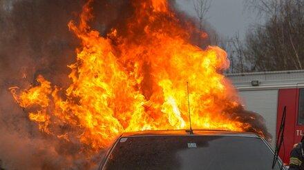 В Воронежской области в жару участились случаи возгорания машин