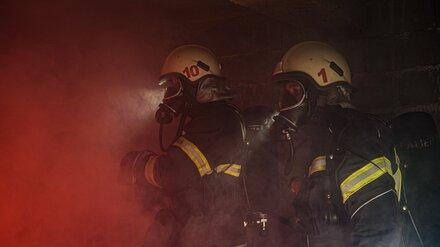 В Воронеже загорелась многоэтажка: один человек в больнице