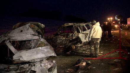 Виновным в ДТП с 8 сгоревшими мужчинами на воронежской трассе признали мертвеца