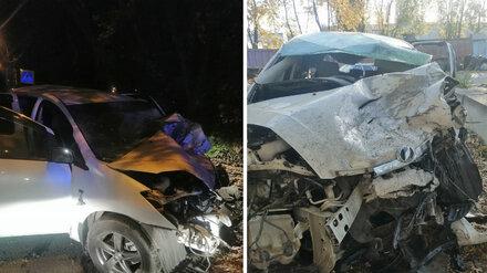 В Воронеже водителя Infinity оставили под домашним арестом за массовое ДТП с погибшим