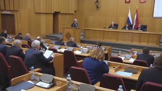 Воронежские депутаты проголосовали за поправки к Конституции