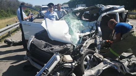 В Воронежской области устроивший ДТП с 8 машинами водитель фуры попал под уголовное дело