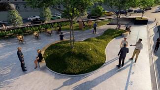 Воронежский застройщик подарит городу благоустроенный сквер