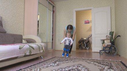 Спасённая самым дорогим в мире уколом воронежская малышка со СМА сможет ходить сама