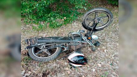 В Воронежской области в ДТП пострадал подросток на мопеде