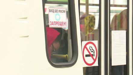 Ковидом в Воронежской области стали чаще болеть пассажиры маршруток и посетители ТЦ