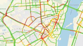 В центре Воронежа из-за неработающих «умных» светофоров образовались пробки