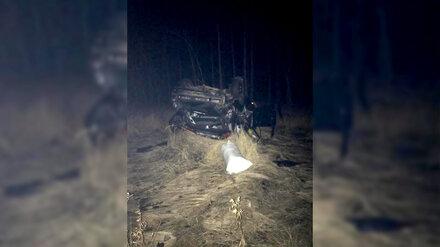 В Воронежской области перевернулась Kia: один человек погиб и двое пострадали