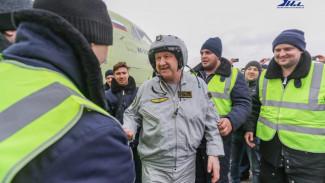 Лётчик-испытатель поделился впечатлениями от воронежского самолёта Ил-112В