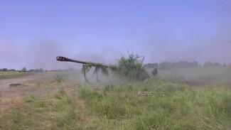Учения по рикошетной стрельбе провели на полигоне в Воронежской области