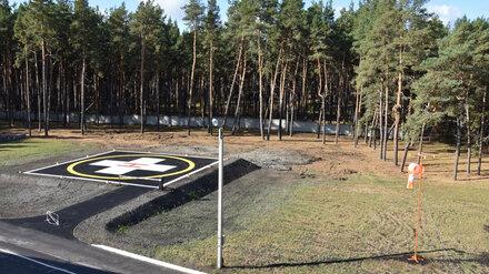 Две воронежские райбольницы получили обещанные вертолётные площадки