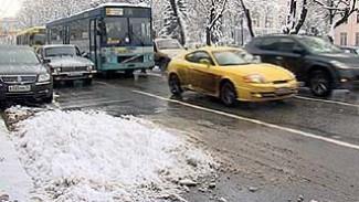 Воронежские коммунальщики снова оказались не готовы к снегопаду