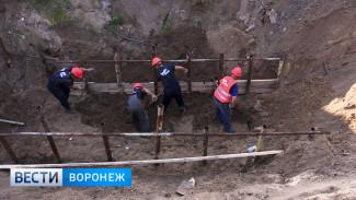 Воронежский парк «Алые паруса» перекопают для ремонта огромного коллектора