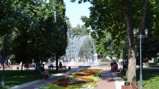 В воронежском «Кольцовском сквере» запустили фонтан