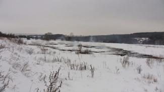 Тлеющие иловые карты засыпали снегом ради спасения Воронежа от вони