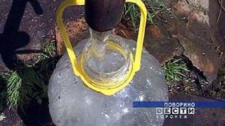 Жители Поворино остаются без воды уже второй месяц
