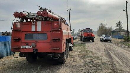 Площадь пожаров в трёх районах Воронежской области превысила 356 га