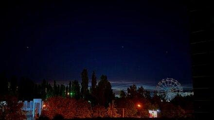 Серебристые облака вновь украсили небо над Воронежем