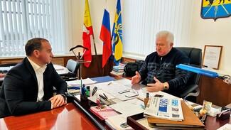 Депутат облдумы обсудил с главой воронежского райцентра реализацию мусорной реформы
