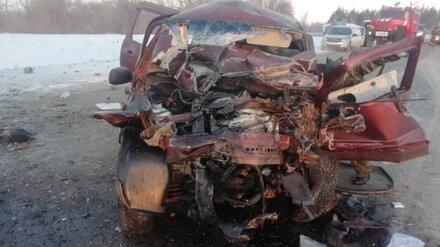 В Воронежской области при столкновении «Нивы» и «Газели» погибли оба водителя