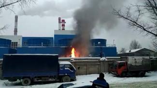 Дымом от пожара на воронежской ТЭЦ-1 заволокло несколько улиц левого берега