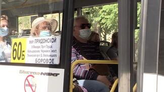 Во время масочного рейда в Воронеже остановили 30 автобусов