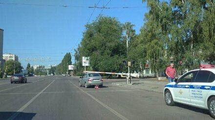 Воронежский автомобилист попал в нелепое ДТП со шлагбаумом