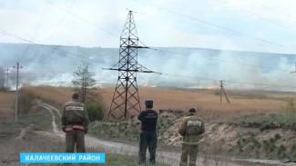 Пожароопасный период в Калаче в этом году начался раньше обычного
