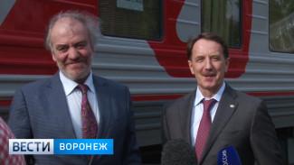 Поезд 16 Московского Пасхального фестиваля добрался до Воронежа