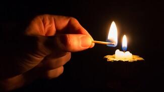 Число оставшихся без света из-за непогоды районов Воронежской области выросло до шести