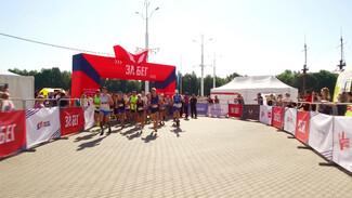 Полтысячи воронежцев приняли участие во всероссийском полумарафоне