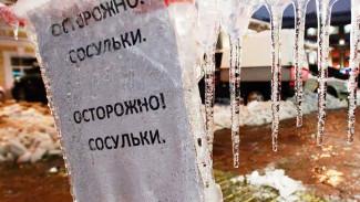 В Воронеже возбуждено 7 уголовное дело по факту падения наледи