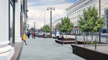 В Воронеже пройдёт публичное обсуждение проекта реконструкции проспекта Революции