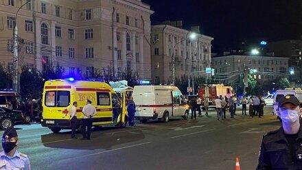 Ещё одного пострадавшего при взрыве маршрутки в Воронеже перевели на лечение в больницу