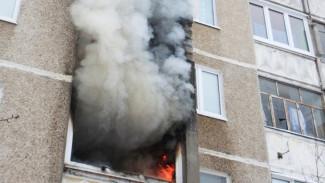 В Воронеже из полыхающей 17-этажки эвакуировали 7 человек