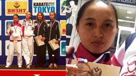 Воронежская спортсменка завоевала «серебро» на Первенстве России по карате