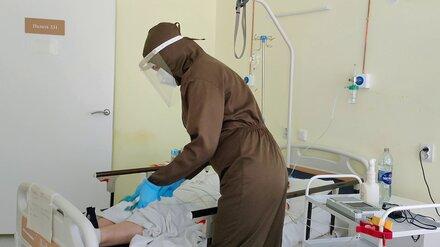 В Воронежской области возросло число госпитализированных ковид-пациентов