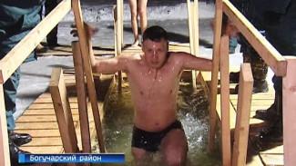 Более 20 тысяч воронежцев окунулись в крещенские купели