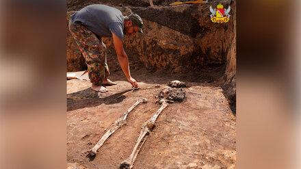Захоронение скифского воина нашли в Воронежской области археологи РАН