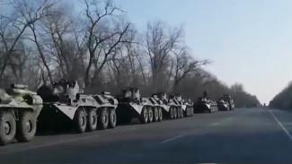 Охота за фейками: танки в Воронеже и транспортная блокада