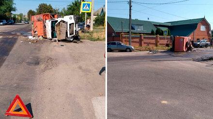 Воронежские медики рассказали о состоянии двух малышей и велосипедиста после страшного ДТП