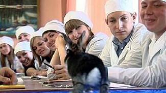 Студенты Аграрного университета проходили практику в Воронежском зоопарке