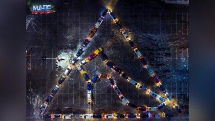 Воронежские автомобилисты устроили флешмоб в честь 8 Марта