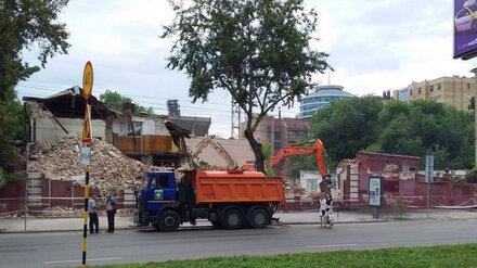 На месте уничтоженного 120-летнего здания в центре Воронежа появится жилой дом