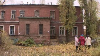 В Воронеже жилой дом начала XX века, в котором полгода назад отключили газ, предложили расселить