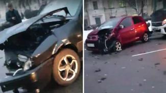 Массовое ДТП спровоцировало серьёзную пробку в центре Воронежа
