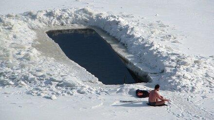 Ковид и морозы втрое сократили в Воронежской области число любителей крещенских купаний