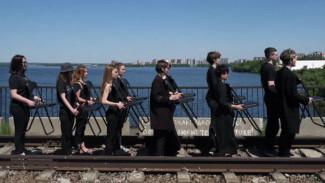 В Воронеже провели «панихиду» по трамваю